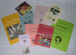 Eine Vielzahl der Veröffentlichungen auf einen Blick