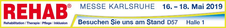 Banner Rehab Messe 2019 Stand D57 Halle 1