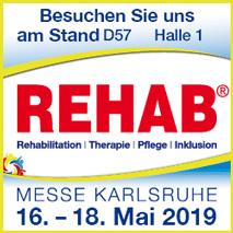 Rehab Messe 2019 Stabd D57 Halle 1